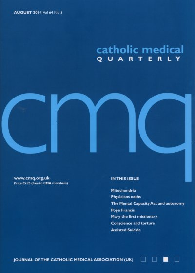 Cover of Aug 2014 CMQ